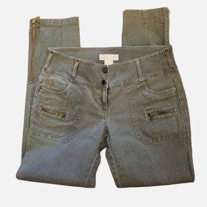 Michael Kors Women's Olive Drab Jeans